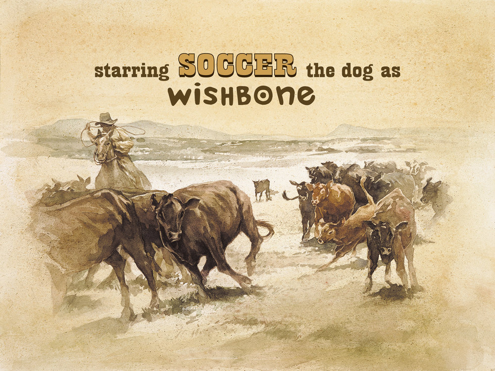 "Title Design, ""Wishbone's Dog Days of the West"""
