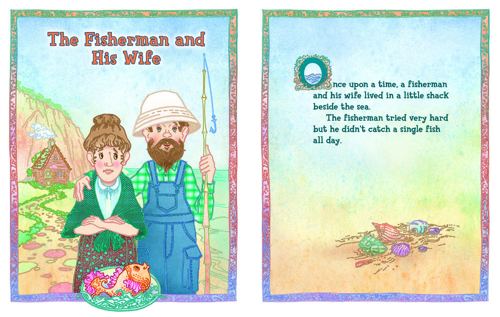 The Fisherman and His Wife for Barney & Friends