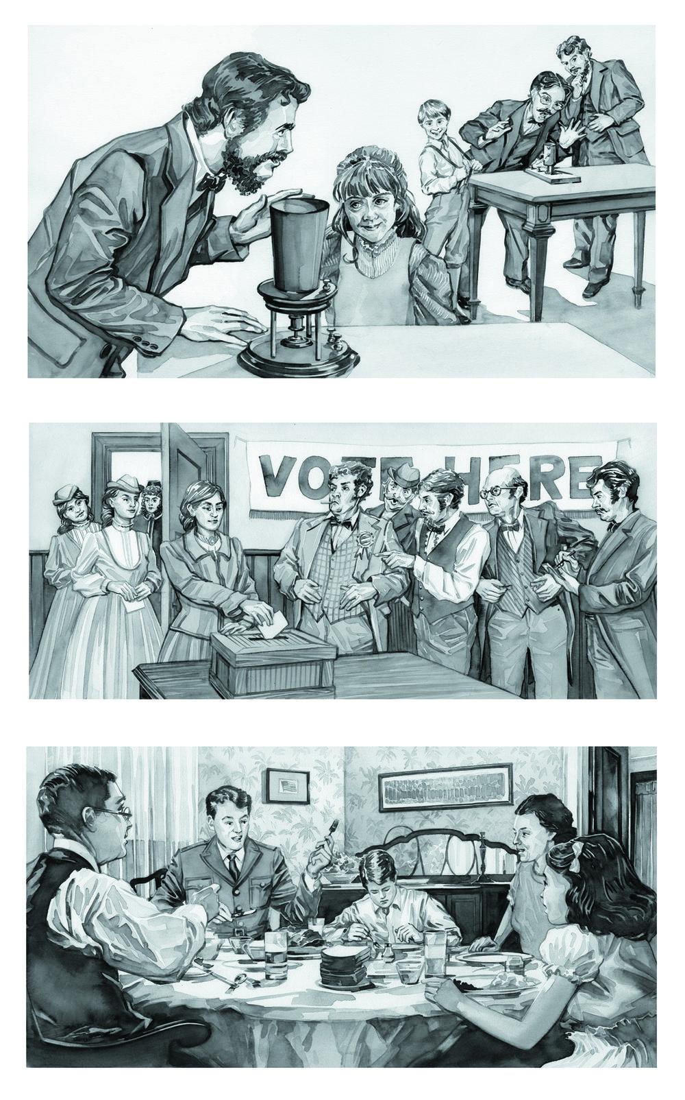 American History for Scholastic Magazine