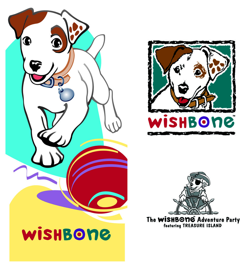 Logos and Character Development for Wishbone