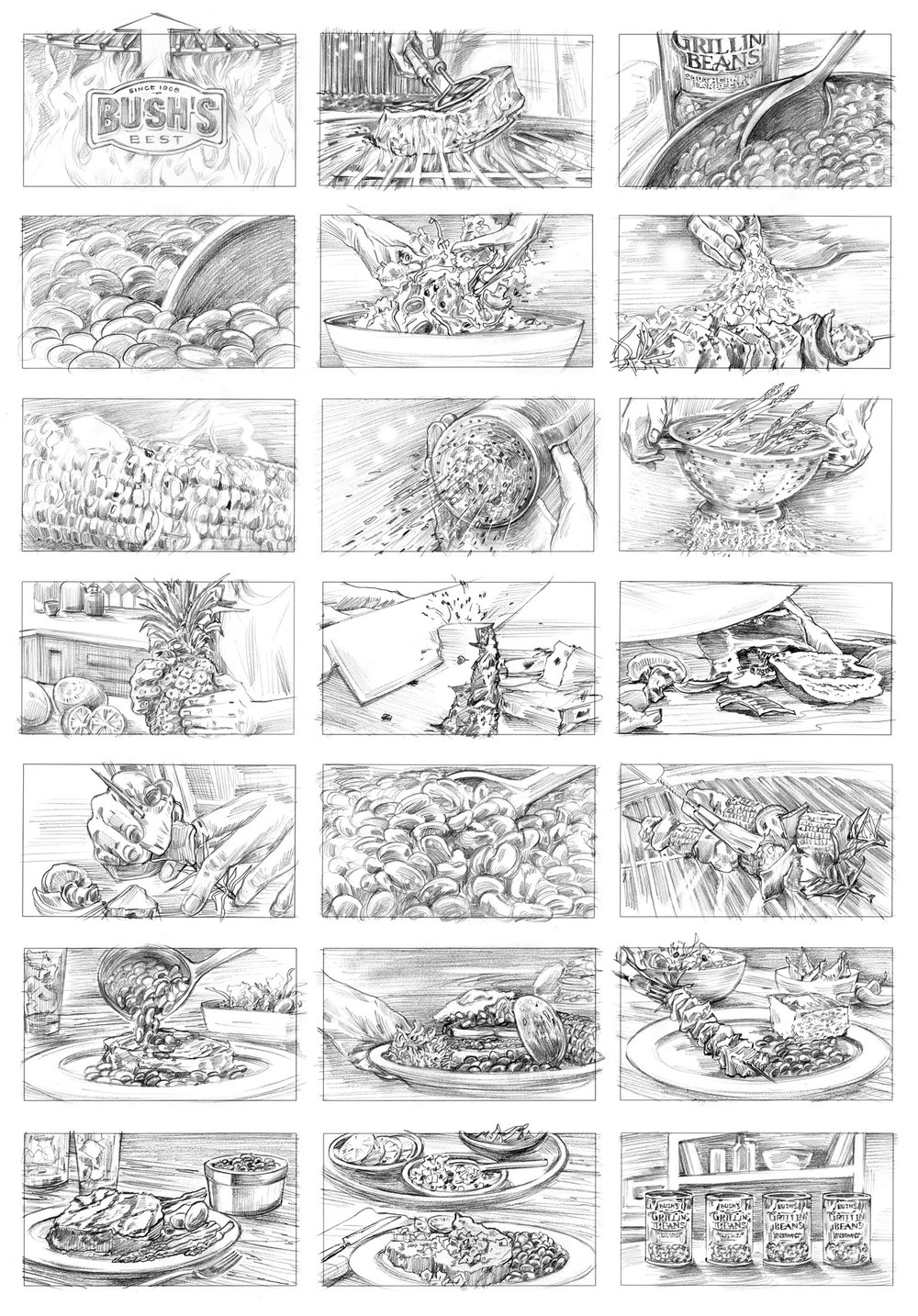 STORYBOARDS -
