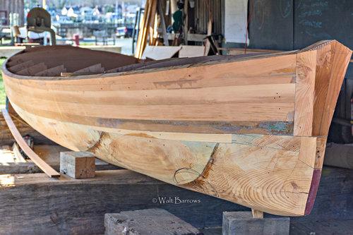Caroline Log Canoe — CBMM Shipyard