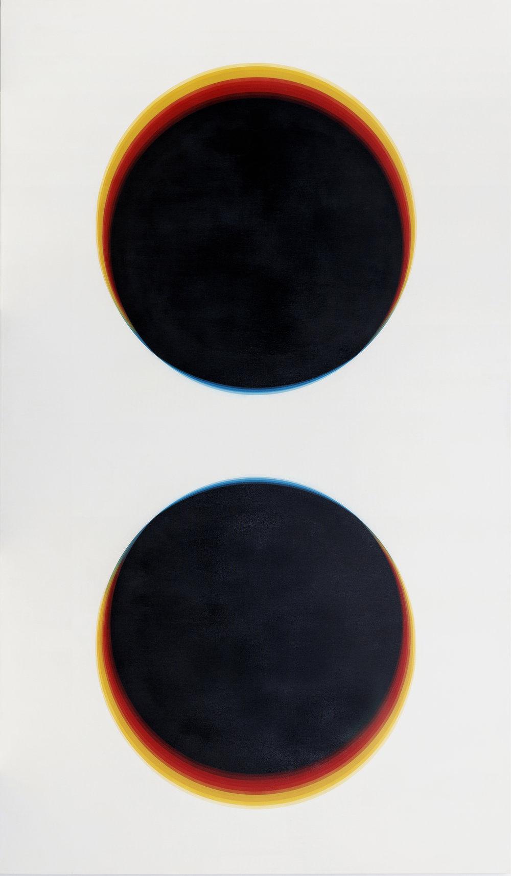 "92928f,  Acrylic on Canvas, 94.5"" x 55"""