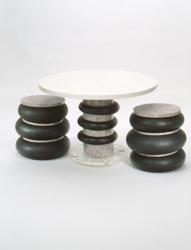 Tokyo Made Rubber, laminate, acrylic