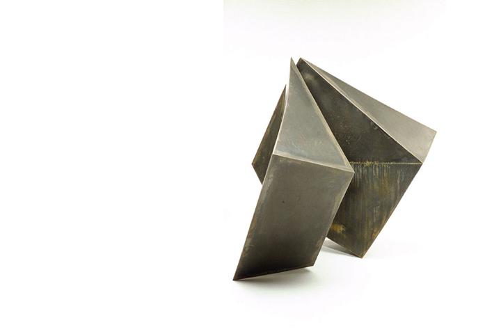 """Untitled II,  Core-ten Steel 54"""" x 48"""" x 52"""""""