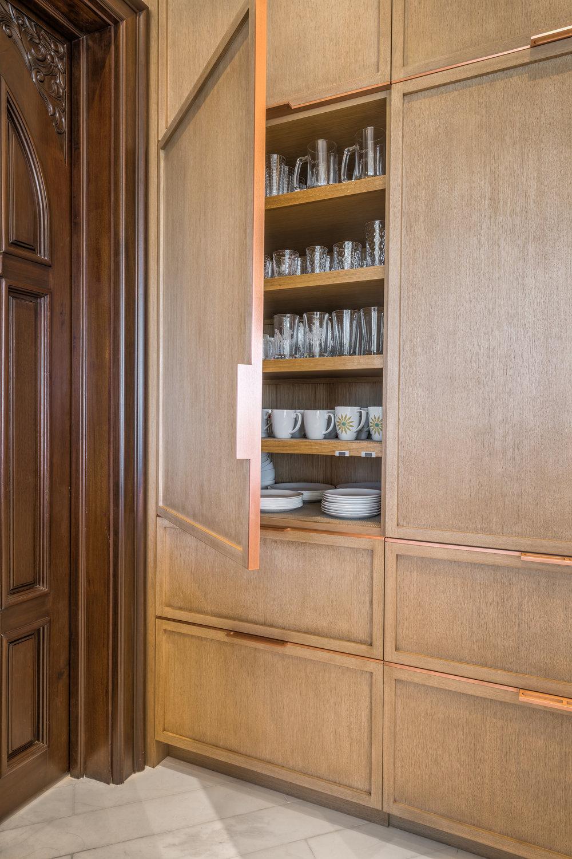 Private Beachfront Estate Bespoke kitchen, Detail