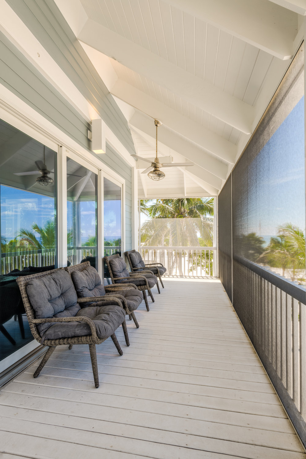 Private Island Beach House Exterior furnishings and fixtures