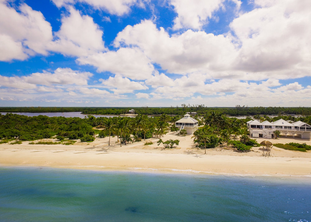 Private Island Beach House Off the grid location