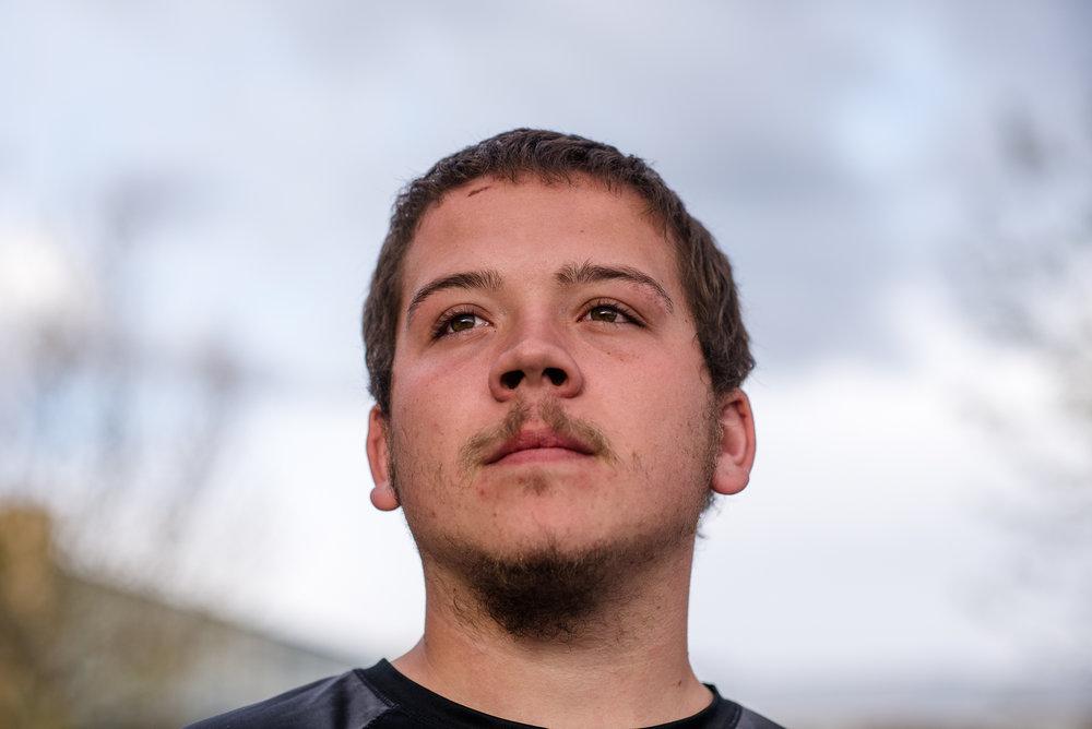 Vinny, age 18.