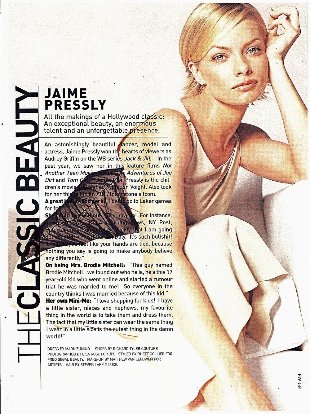 JAMIE PRESSLEY