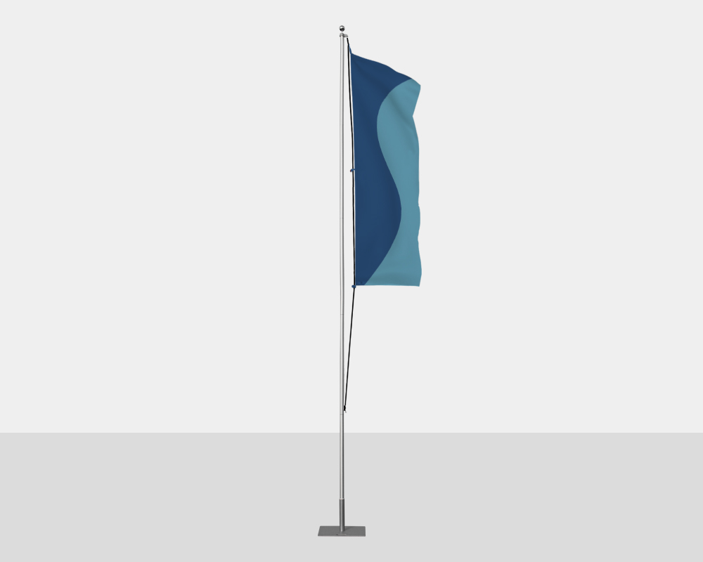 Nylon Stock Color Flag