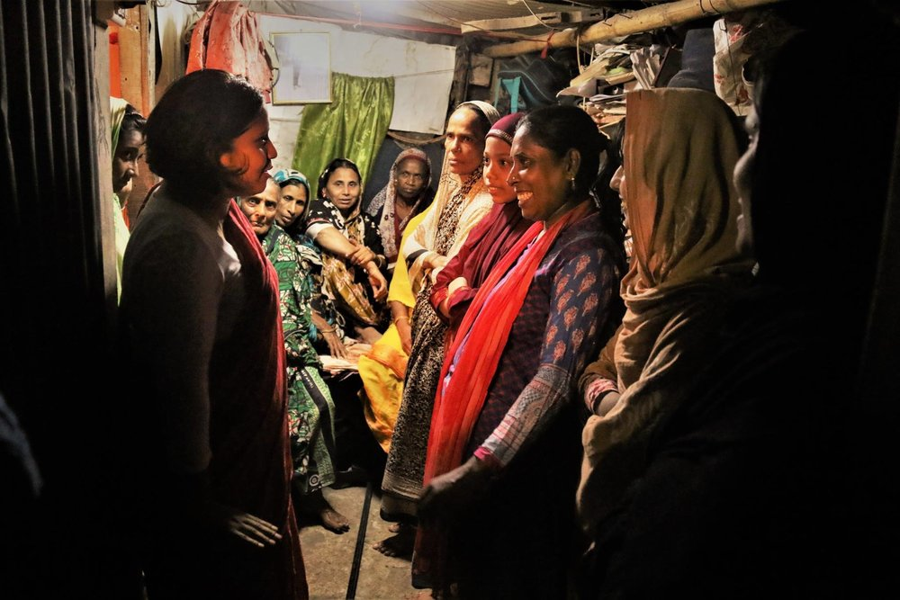 Huq produced a film on Bangladeshi organizers, many of whom are based in Queens. // Photo courtesy of Chaumtoli Huq