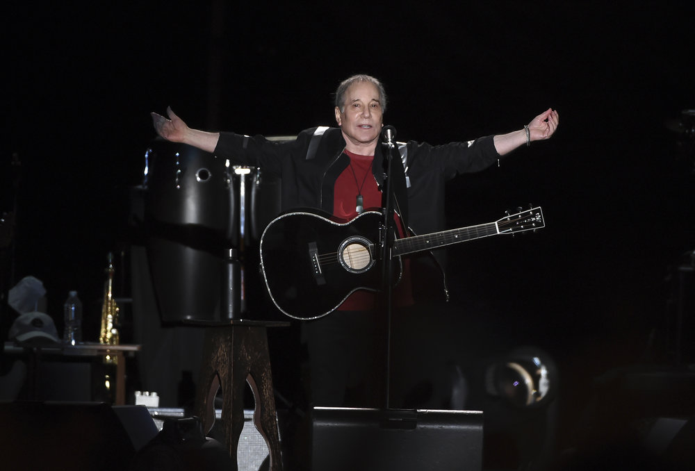 Paul Simon wrapped up his farewell concert tour Saturday at Flushing Meadows Corona Park, near where he grew up.The 76-year-old singer picked Flushing Meadows Corona Park to say goodbye. // AP Photo