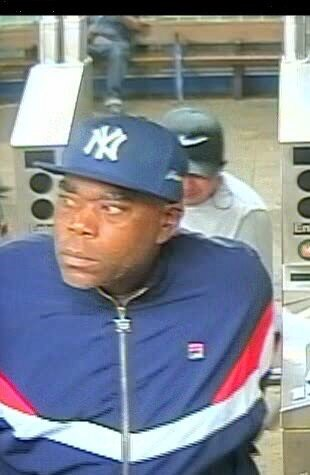 Surveillance image of man wanted for groping a person. Photo courtesy of NYPD