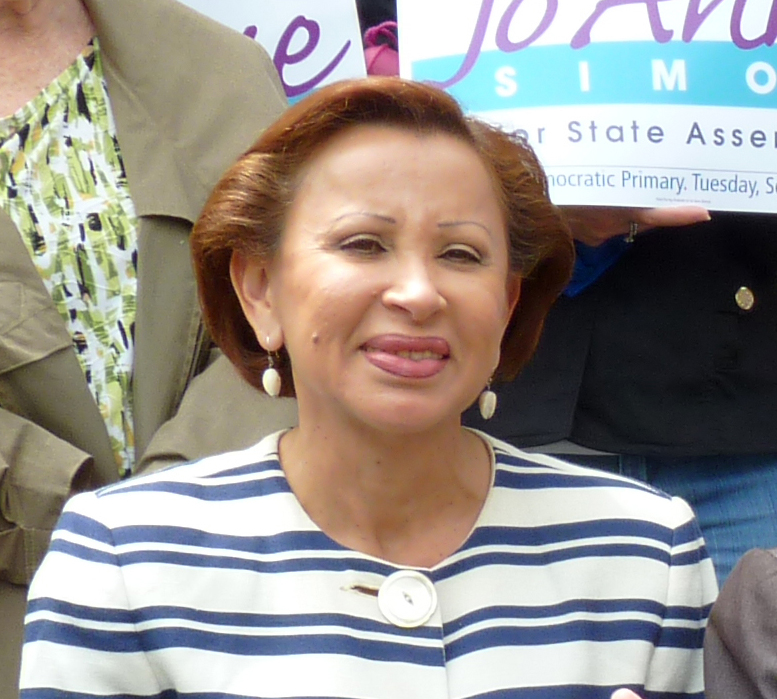 U.S. Rep. Nydia Velazquez, who represents parts of Queens, condemned the Trump administration's green card policy proposal. Eagle photo by Mary Frost.