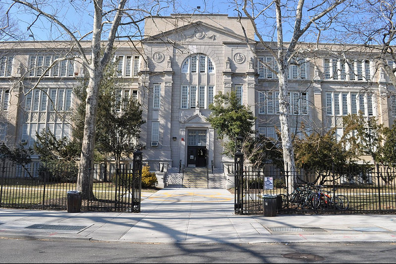 Grover Cleveland High School in Ridgewood was the scene of a mediation gone wrong Wednesday. // DOE Photo