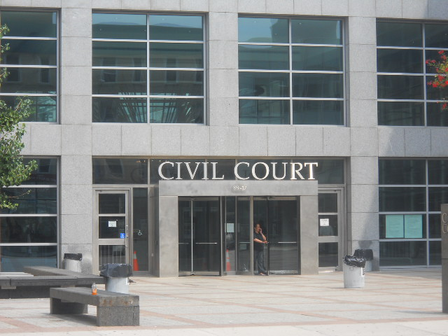 Queens Civil Court. Photo by Young King.