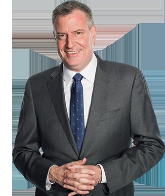 NYC Mayor Bill de Blasio. Photo courtesy of the NYC Mayor's Office.