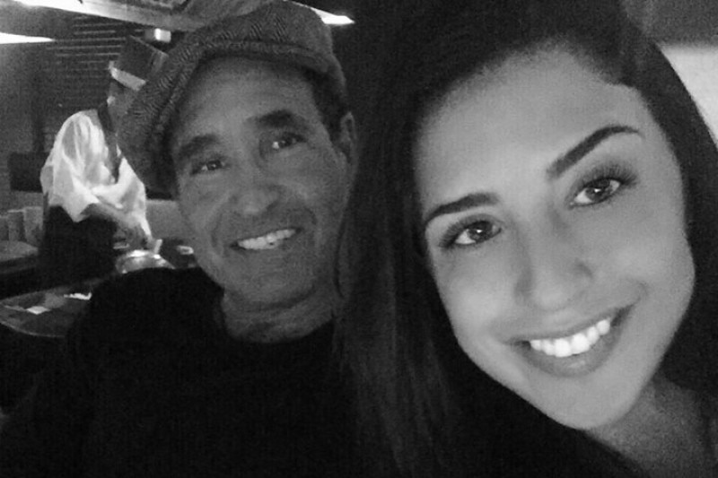Karina Vetrano, pictured here with her father Phil Vetrano, was murdered while jogging near her Howard Beach home in August 2016. GoFundMe photo.