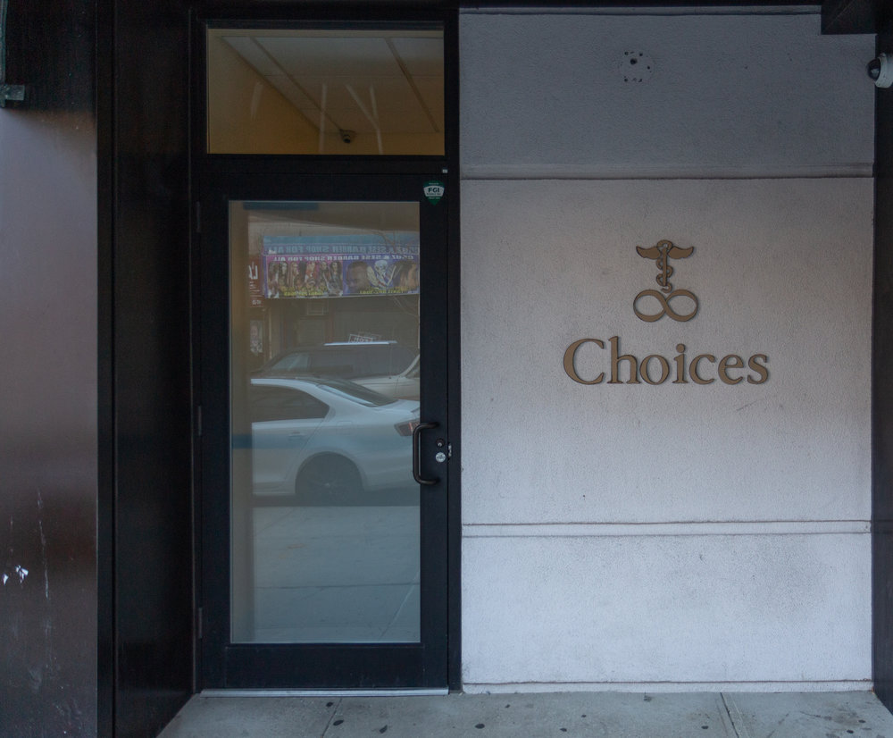 The exterior of Choices in Jamaica.
