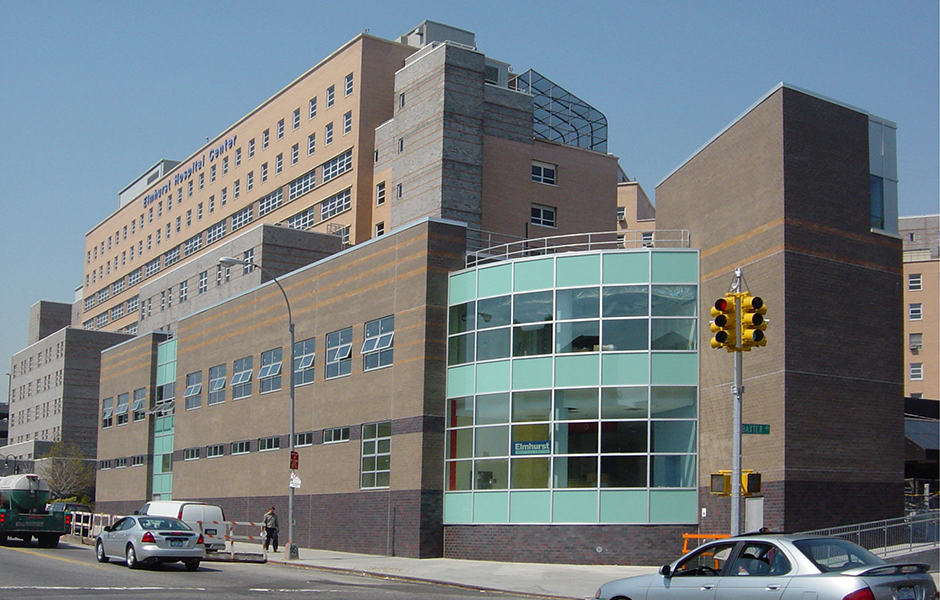 Elmhurst Hospital. Photo courtesy of Health + Hospitals.