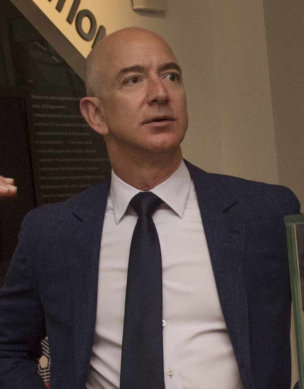 Amazon CEO Jeff Bezos is reportedly considering Long Island City as the location for a huge new Amazon facility. Department of Defense photo.