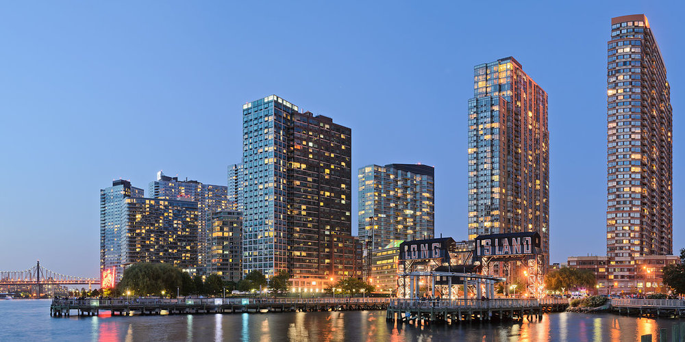 The Long Island City skyline. AP Photo.