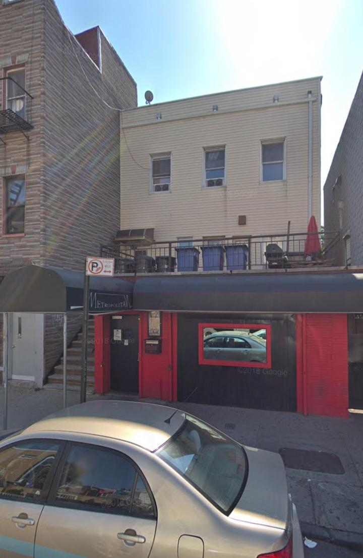 Google Maps Image on Metropolitan Bar on Lorimer Street. Photo via Google Maps.