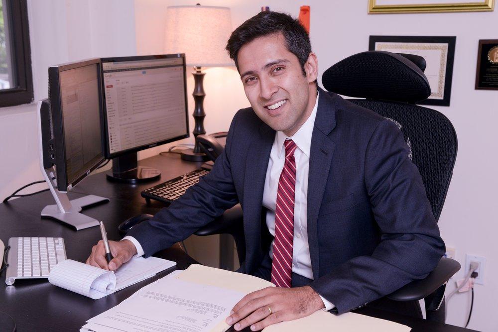 Sateesh Nori. Photo courtesy of Legal Aid.