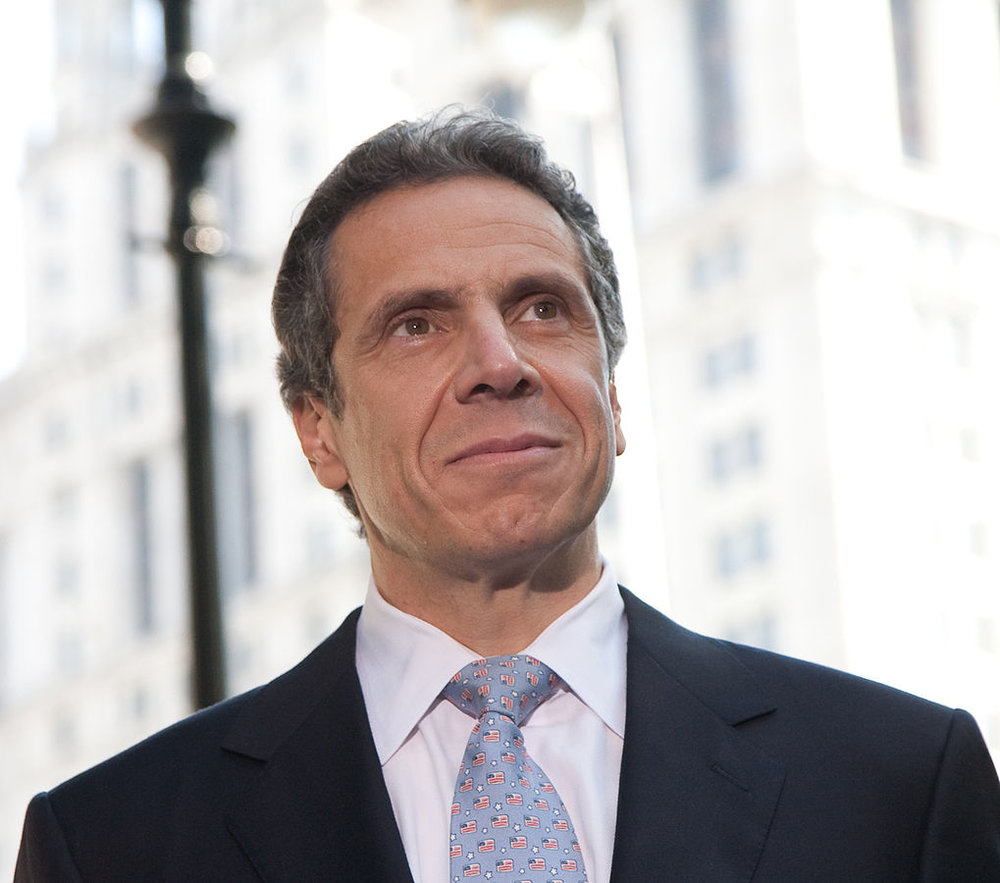 Governor Andrew Cuomo. Photo by Patrick Arnow.