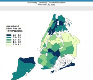 Nyc Map Portal Drinking, Chlamydia, Colonoscopies: New Web Portal Tells on New