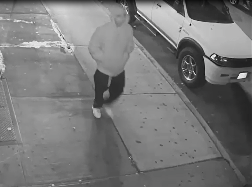 Video of robbery suspect Alfonso Martinez on Oct. 24. Video courtesy of NYPD.