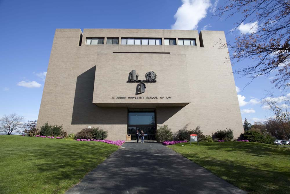 Photo of St. John's University's School of Law. Photo courtesy of St. John's University.