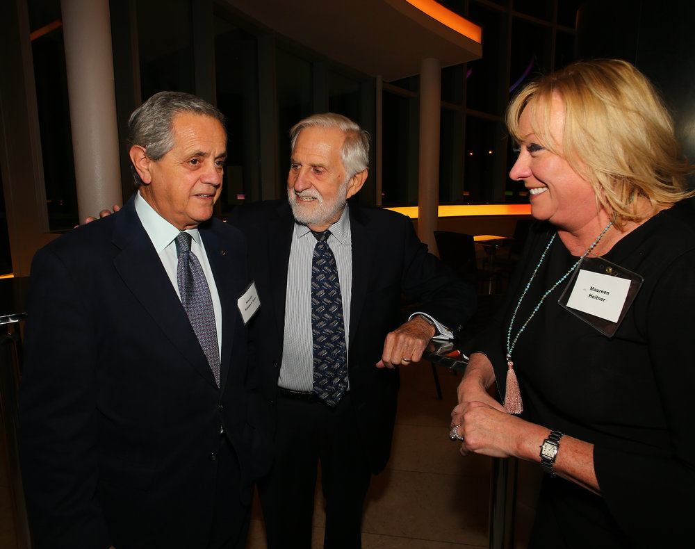 From left, Judge Rudolph Greco, Judge Sidney Strauss and Judge Maureen Heitner.