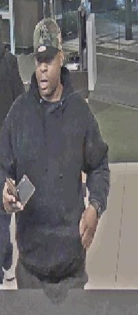 Still image of a Whitestone bank robbery suspect. Photo courtesy of the NYPD.
