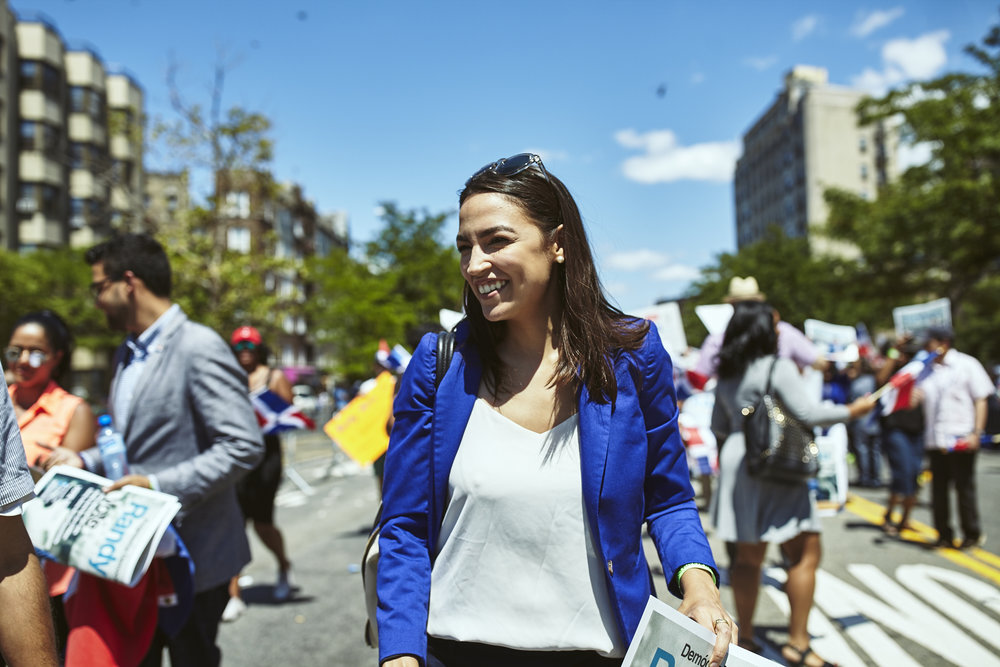 U.S. Rep. Alexandria Ocasio-Cortez.Photo by Jose Alvarado via the Ocasio-Cortez campaign.