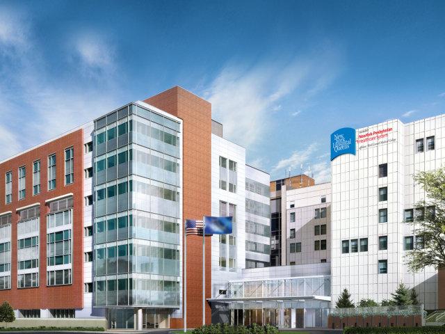 New York Presbyterian Hospital-Queens. Photo via New York Hospital Queens.