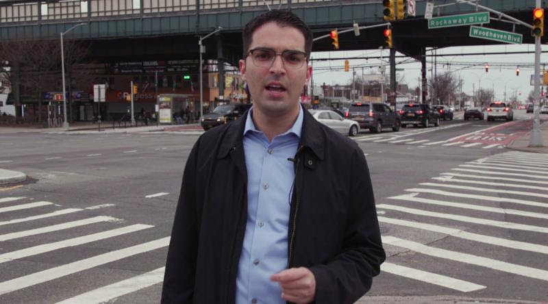 Eric Ulrich announced his candidacy for Public Advocate on Monday. Photo via Eric Ulrichs office.