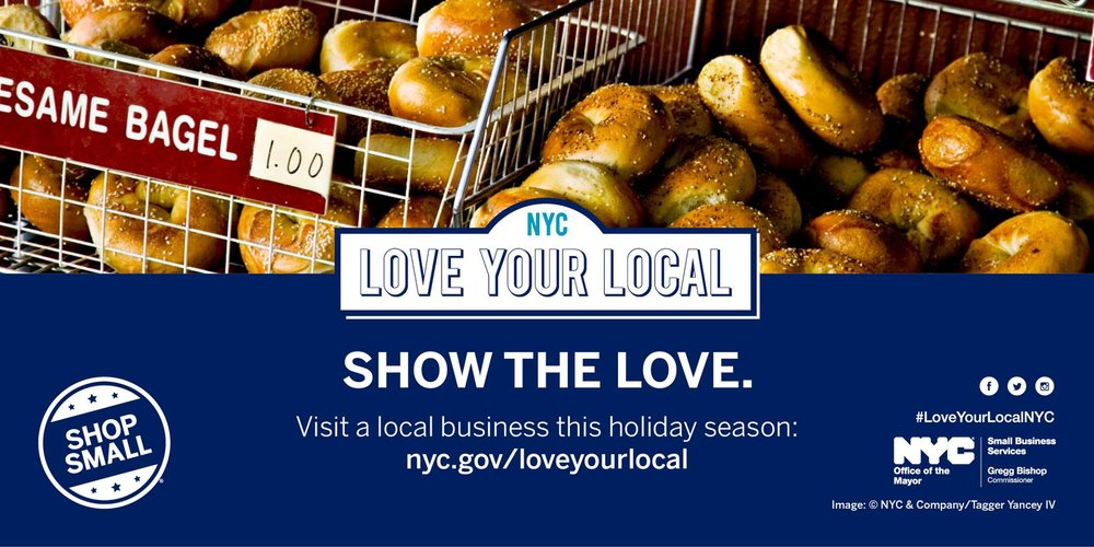 Shopping from local businesses reduces excessive packaging often used by shipping companies. Photo via NYC Department of Small Business Services.