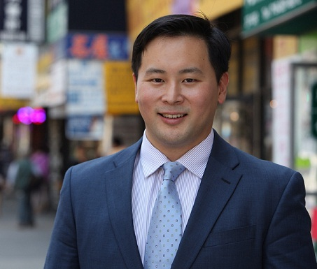 Assembly Member Ron Kim Announced his candidacy for New York City Public Advocate on Monday. Photo via the State Assembly.