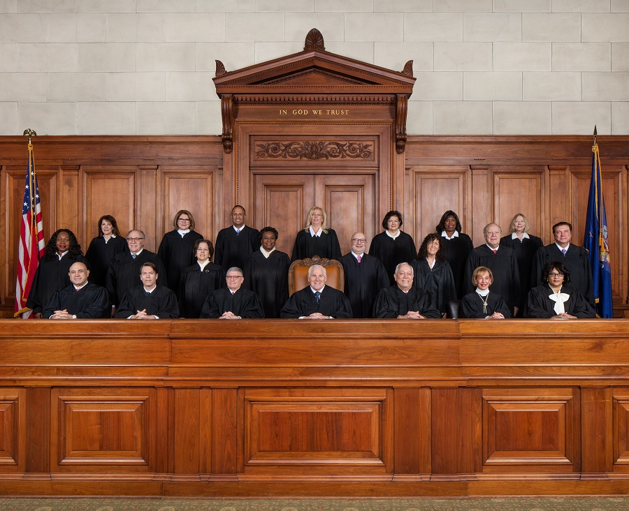 Justices of the Second Department Appellate Division. Photo via NY Courts.
