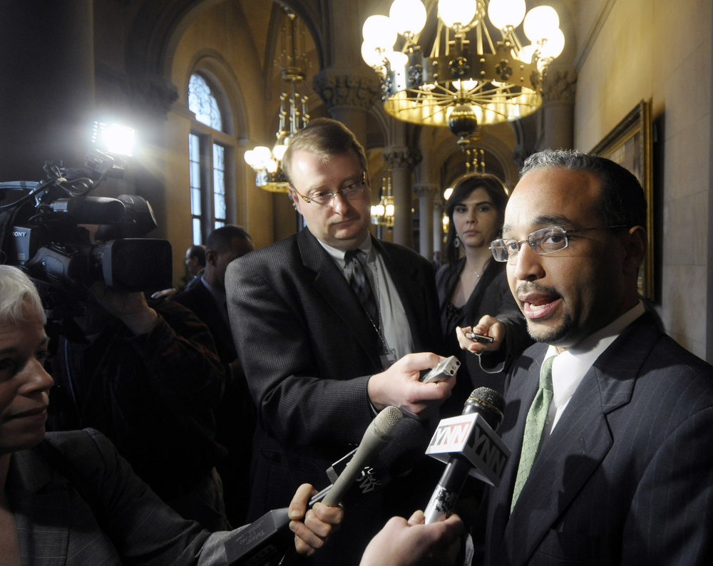 State Sen. Jose Peralta died in November. AP file photo by Mike Groll.