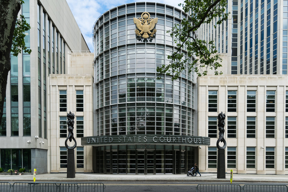 Federal court for the Eastern District of New York.  Eagle  file photo by Rob Abruzzese.