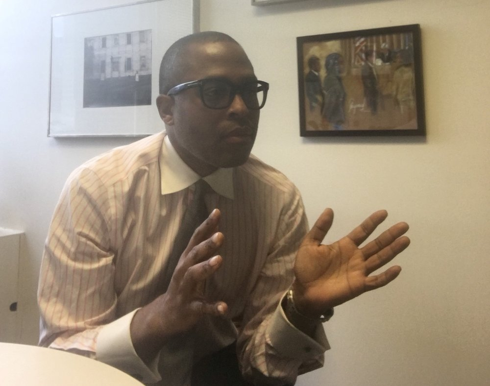 Jamal Johnson is the director of Legal Aid's new Homicide Defense Task Force. Photo courtesy of Jamal Johnson