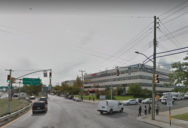 Ulmer Street and the Whitestone Expressway in Flushing. Photo via Google Maps.