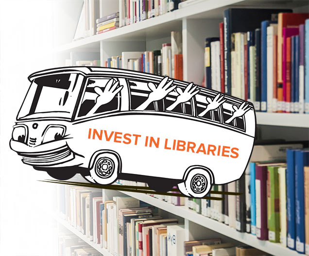 Queens Library calls on the borough's bookworms to visit Albany for New York's annual Library Day. Image via the Queens Library.