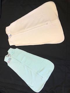 Wearable sleep sacks distributed by the ACS..