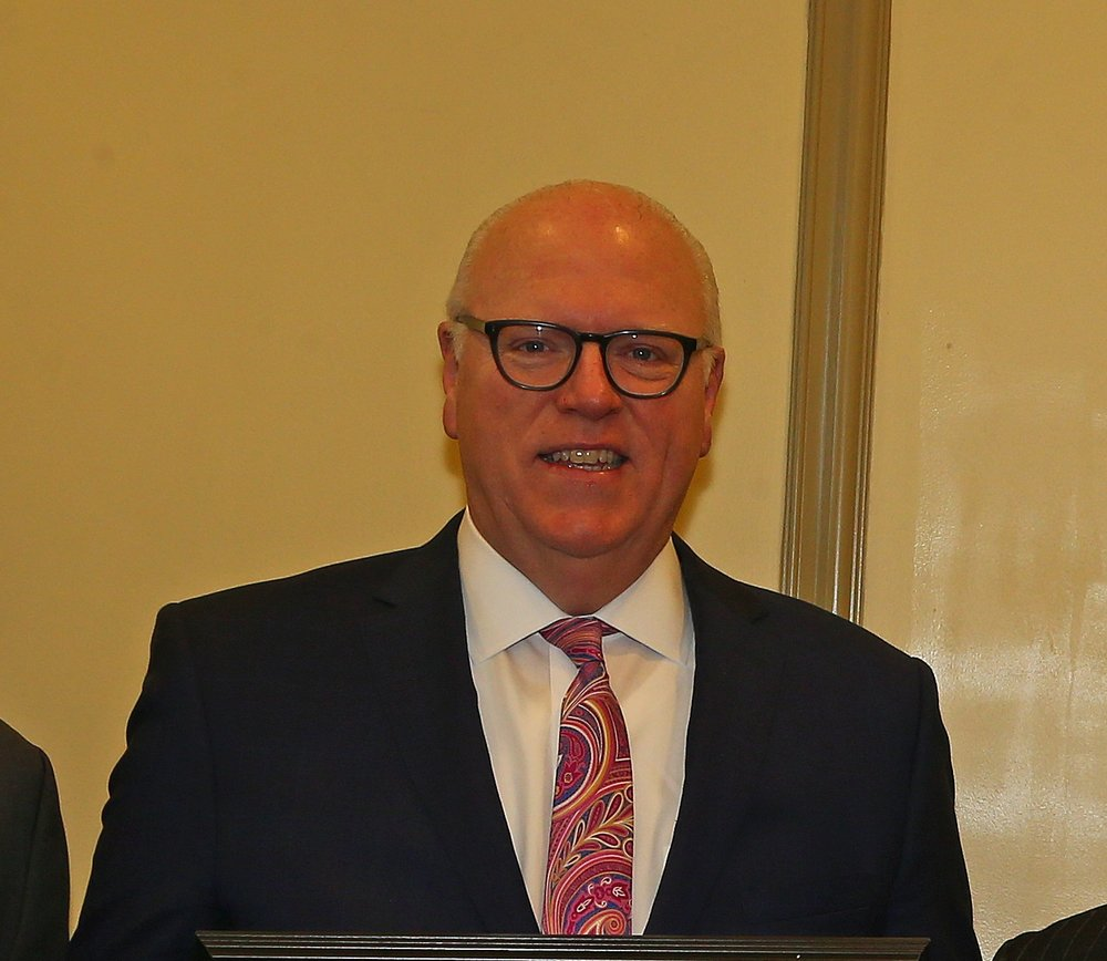 Queens County Democratic Party chairperson Joseph Crowley. Eagle photo by Andy Katz