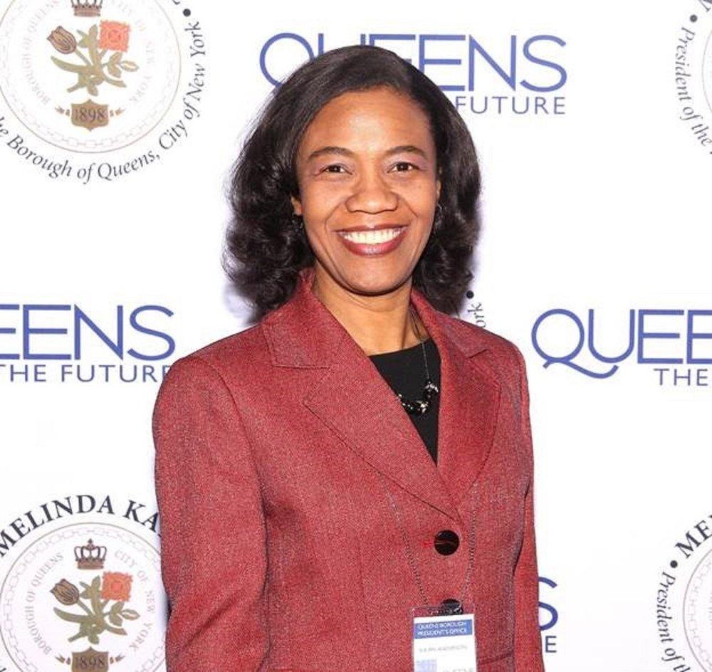 Shurn Anderson is Borough President Melinda Katz's new director of Economic Development.