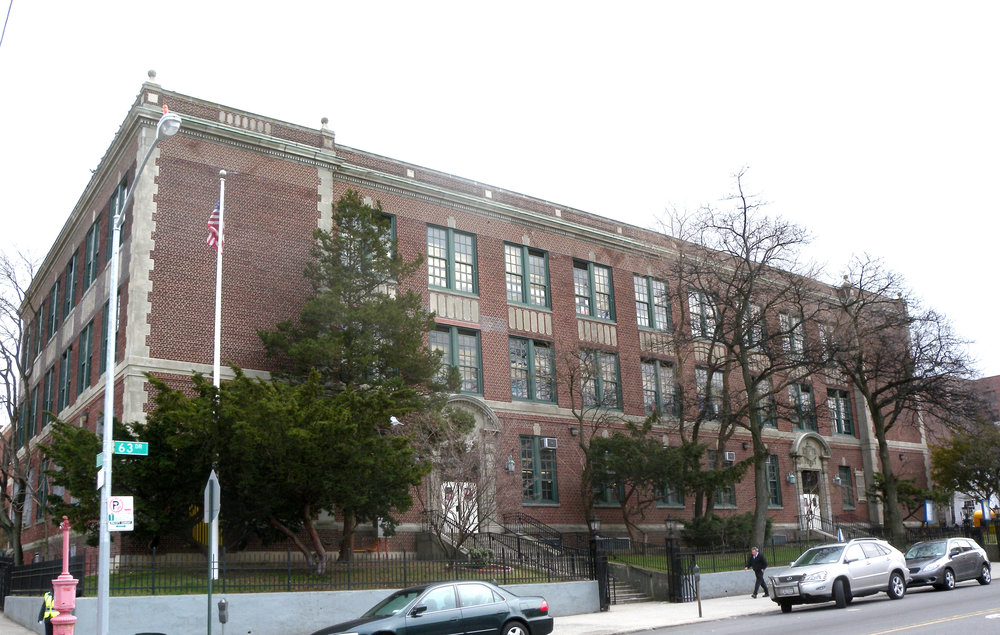 Police arrested a 12-year-old boy who they drew swastikas and anti-Semitic messages on schoolyard outside PS 139 in Rego Park last week. Photo by jim.henderson via Wikimedia Commons